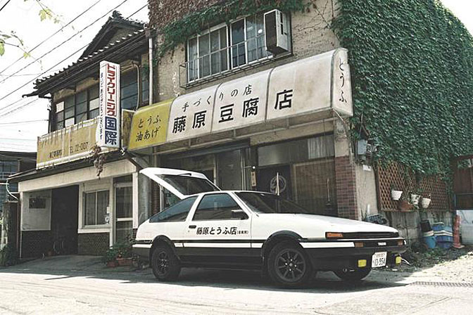 Initial D AE86//Photo Credit: Speedhunters.com